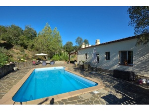 Private pool of villa in Vall Repos Santa cristina d'Aro