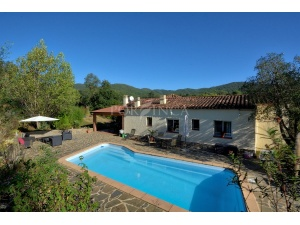 pool of villa in Vall Repos Santa cristina d'Aro
