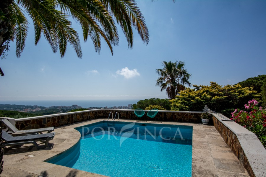 Fantastic property with outstanding sea view in Platja d'Aro