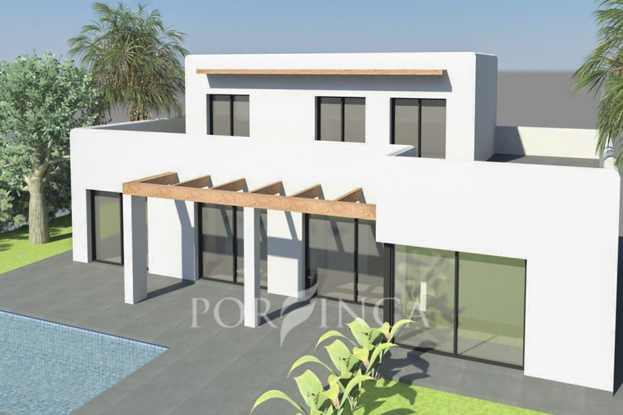 Newly built contemporary style villa in Calonge.