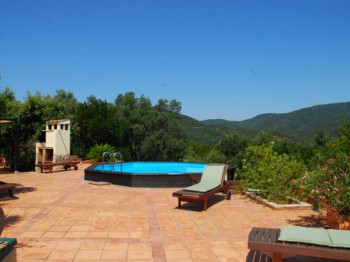 Detached cosy property with beautiful mountain view in Santa Cristina d'Aro