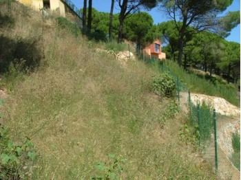 Building plot with fantastic sea view in Begur