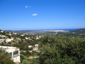 Building plot with fantastic sea view in Calonge