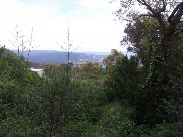 Large building plot with nice views over the Bay of Palamos in Playa d'Aro Mas Nou