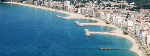 New project for the Waterbreakers in the bay of Sant Antoni de Calonge.